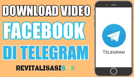 download video facebook di telegram
