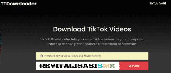 download video tiktok no wm