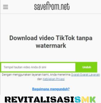 download video tiktok tanpa watermark hd