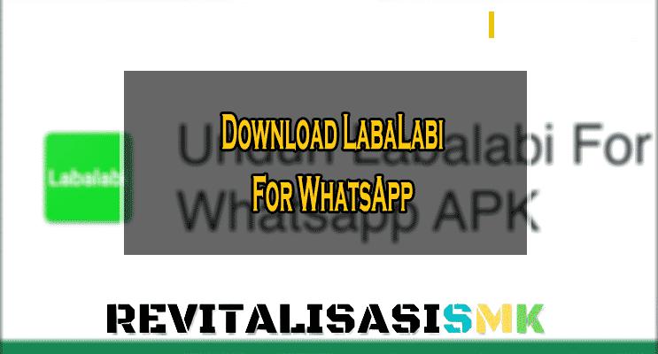 download aplikasi labalabi wa