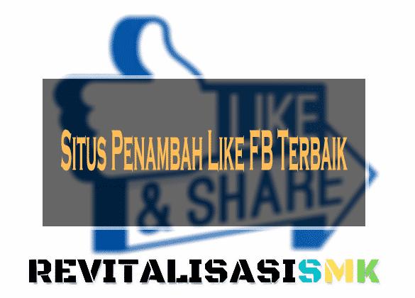 Situs Penambah Like FB Terbaik
