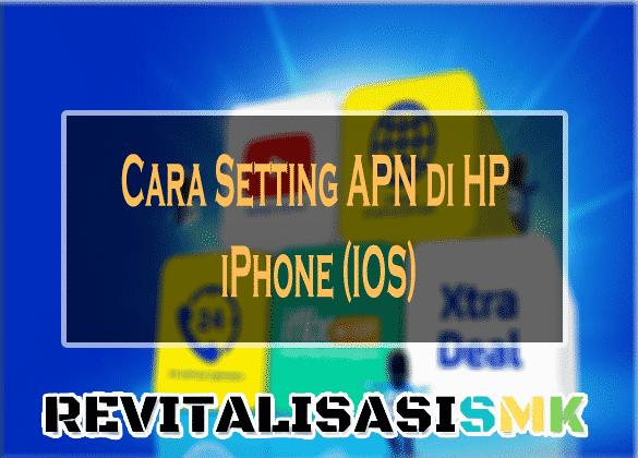 setting apn xl di iphone